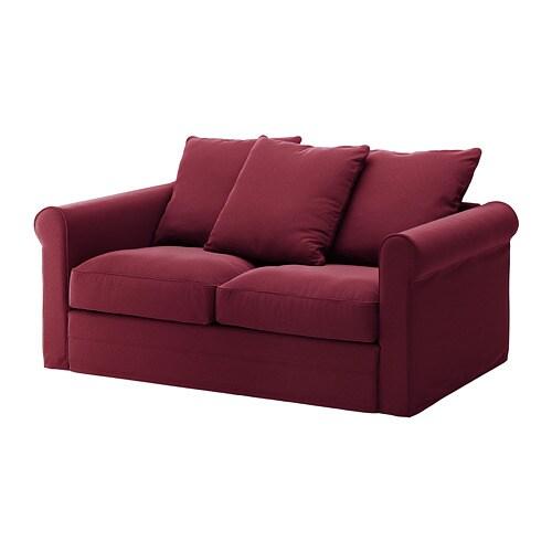 Gr nlid divano a 2 posti ljungen rosso scuro ikea - Divano rosso ikea ...