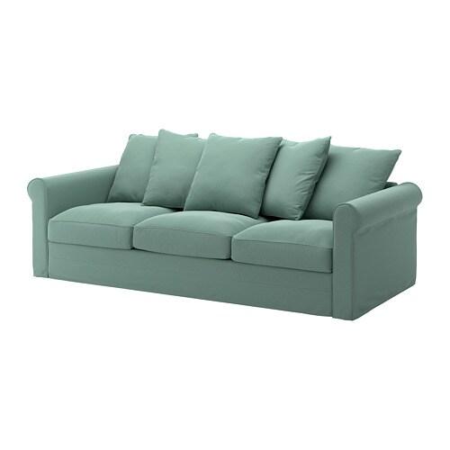 Gr nlid divano a 3 posti ljungen verde chiaro ikea for Divano ikea 3 posti