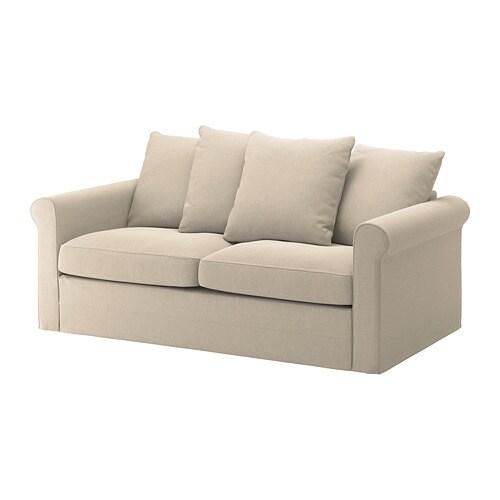 Gr nlid divano letto a 2 posti sporda naturale ikea for Divano 2 posti ikea