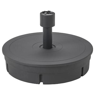 GRYTÖ Base per ombrellone, grigio scuro, 60 cm