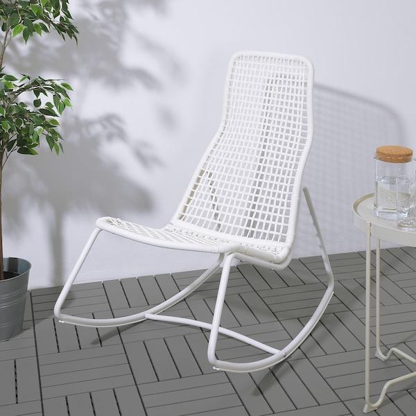 Sedie Giardino Plastica Ikea.Gubbon Sedia A Dondolo Da Interno Esterno Bianco Ikea