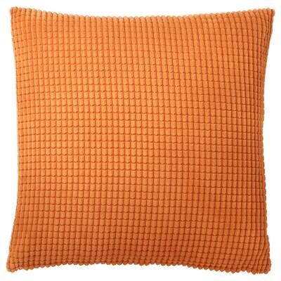 GULLKLOCKA Fodera per cuscino, arancione, 50x50 cm
