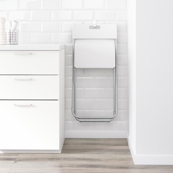 GUNDE Sedia pieghevole, bianco IKEA