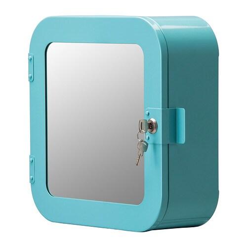 Gunnern mobiletto con serratura blu ikea - Mobile con serratura ...