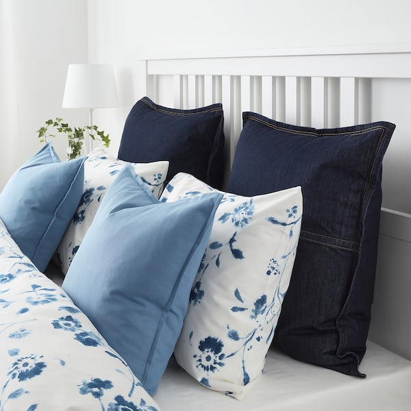 Cuscini Azzurri.Gurli Fodera Per Cuscino Azzurro Ikea