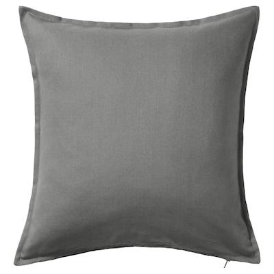 GURLI Fodera per cuscino, grigio, 65x65 cm