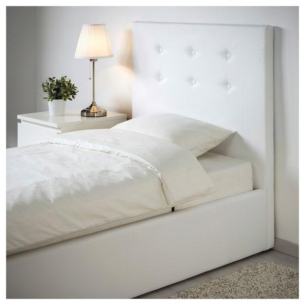 Ikea Letti Singoli Per Bambini.Gvarv Struttura Letto Con Contenitore Idhult Bianco Ikea