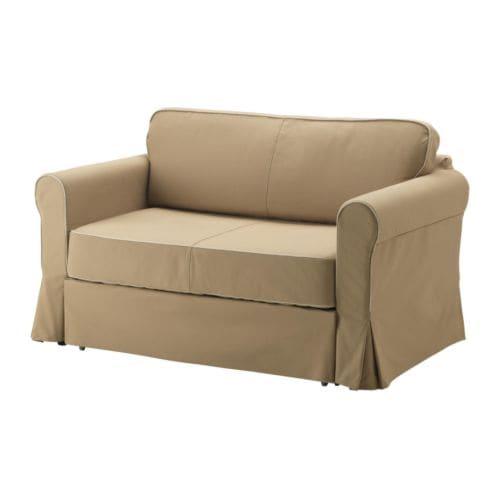 Hagalund divano letto a 2 posti idemo beige ikea for Ikea divano contenitore