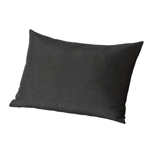 H ll cuscino schienale da esterno nero ikea for Ikea cuscini esterno