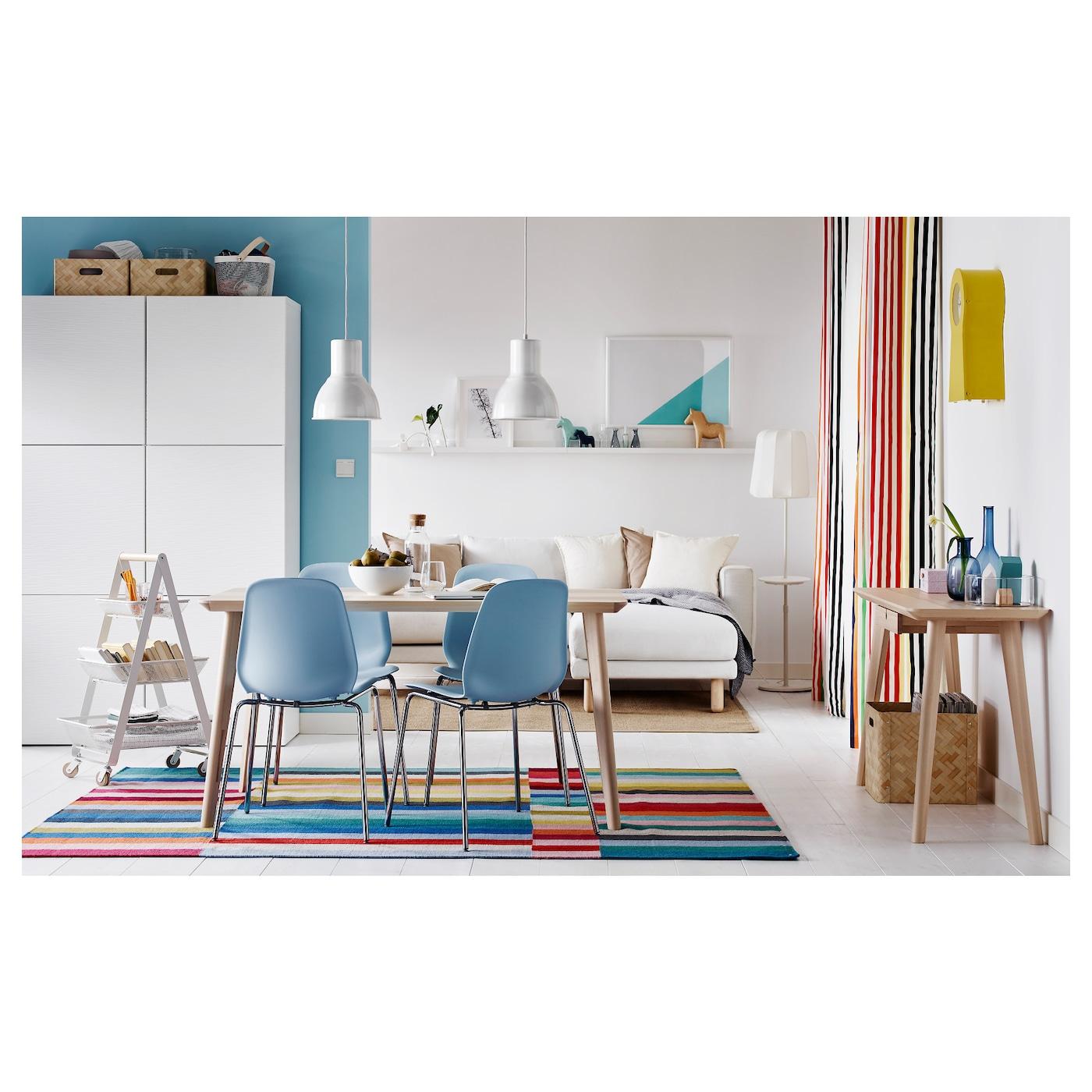 Lavare Tappeto Lana Ikea halved tappeto, tessitura piatta - fatto a mano fantasia 170x240 cm