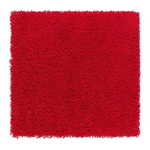 HAMPEN Tappeto, pelo lungo , rosso Lunghezza: 80 cm Larghezza: 80 cm Superficie: 0.64 m² Densità di superficie: 2050 g/m² Densità pelo: 1012 g/m² Spessore pelo: 30 mm