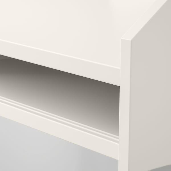 HAUGA Scrivania, bianco, 100x45 cm