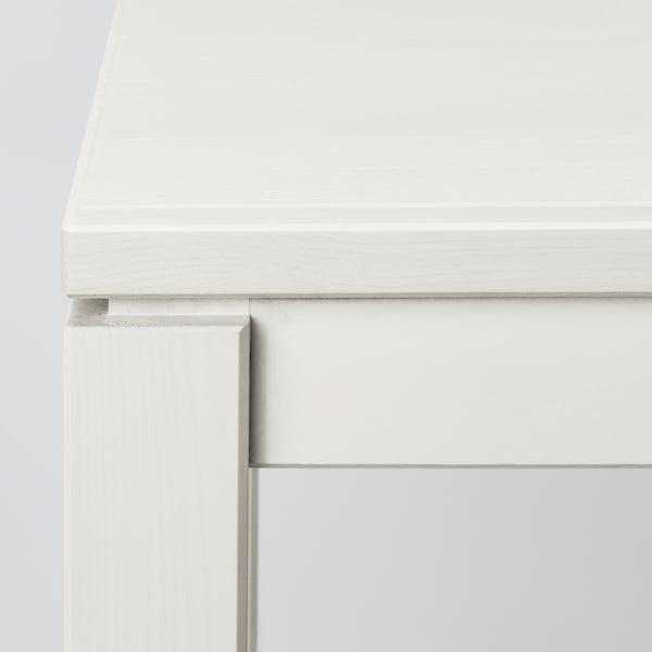 HAVSTA Tavolo consolle, bianco, 100x35x63 cm