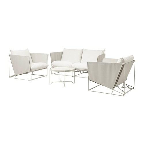 Havsten set mobili 4 posti interno esterno ikea - Mobili esterno ikea ...