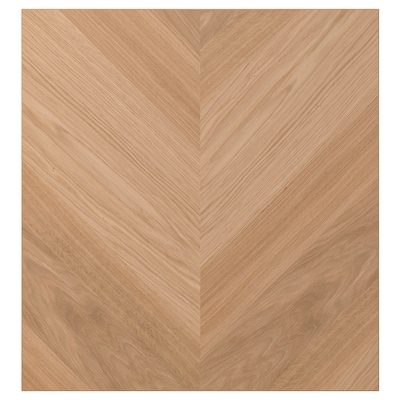 HEDEVIKEN Anta, impiallacciatura di rovere, 60x64 cm