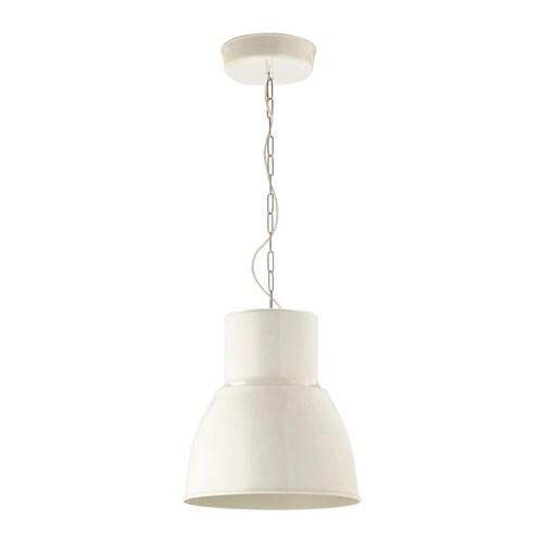 HEKTAR Lampada a sospensione - bianco, 38 cm - IKEA