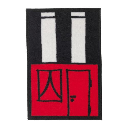 Hemmahos tappeto ikea - Ikea tappeto bagno rosso ...