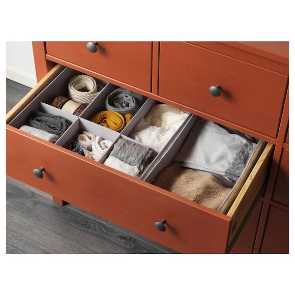 Ikea Hemnes Cassettiera 8 Cassetti.Hemnes Cassettiera Con 8 Cassetti Color Mogano 160x96 Cm Ikea