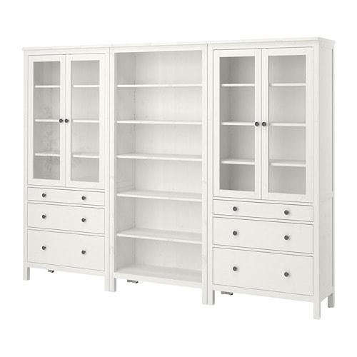 Hemnes Combinazione Antecassetti Mordente Bianco Ikea