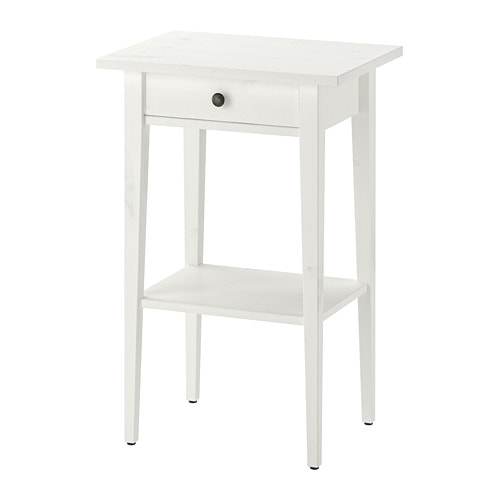 Hemnes Comodino Mordente Bianco Ikea
