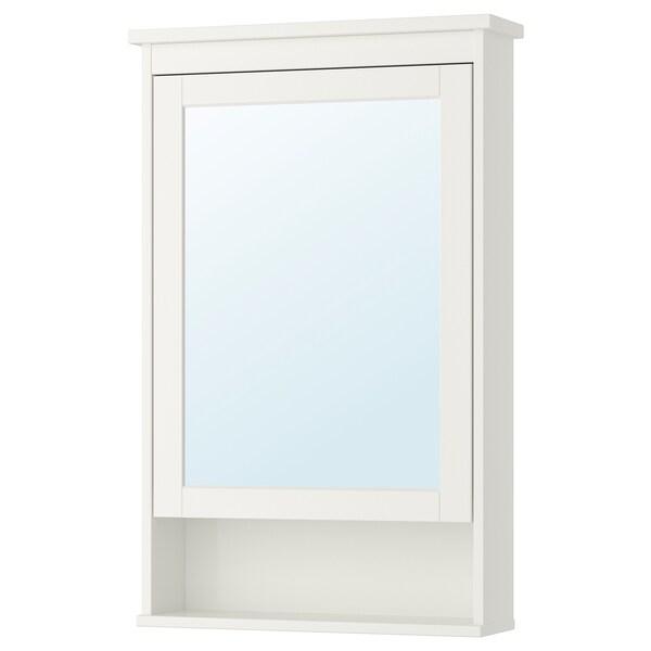 Specchi Ikea Da Bagno.Hemnes Mobile A Specchio Con 1 Anta Bianco 63x16x98 Cm Ikea