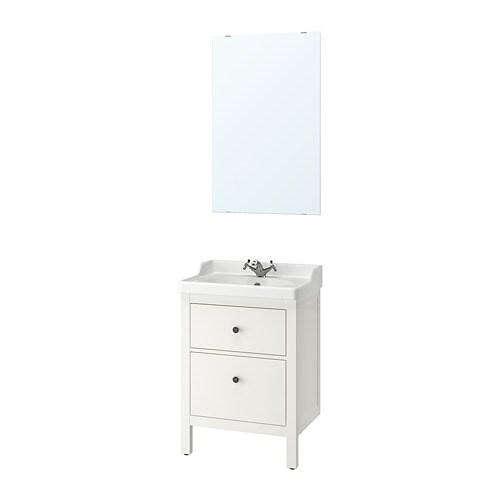 Hemnes r ttviken set di 4 mobili per il bagno ikea for Mobili per il bagno ikea