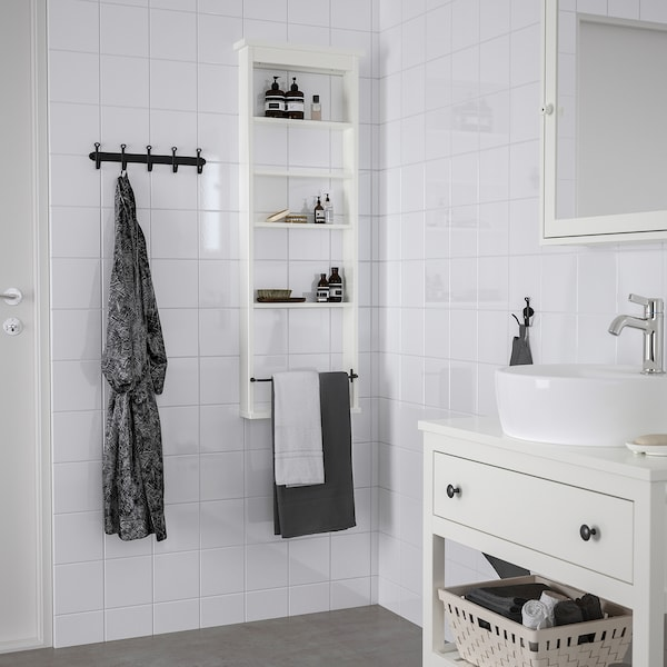 HEMNES Scaffale da parete, bianco, 42x118 cm
