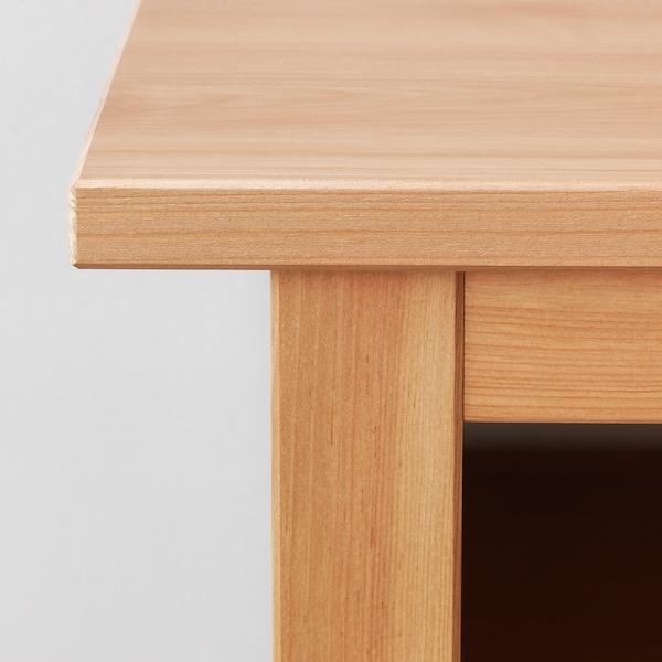 HEMNES Tavolo consolle, marrone chiaro, 157x40 cm
