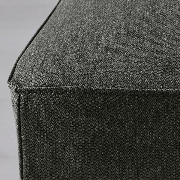 HENRIKSDAL Fodera per sedia Dansbo grigio scuro