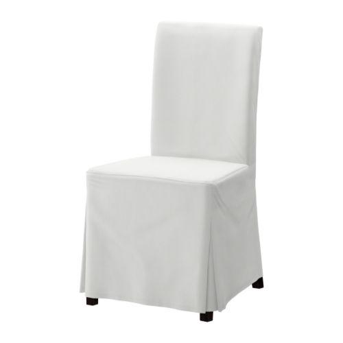 HENRIKSDAL Sedia   Blekinge bianco, marrone nero,   IKEA