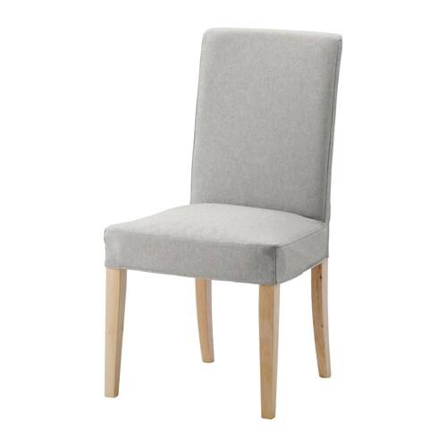 Henriksdal sedia orrsta grigio chiaro ikea for Sedie in legno ikea