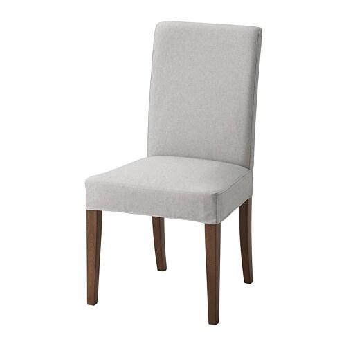 Ikea Sedie Di Legno.Henriksdal Sedia Orrsta Grigio Chiaro Ikea