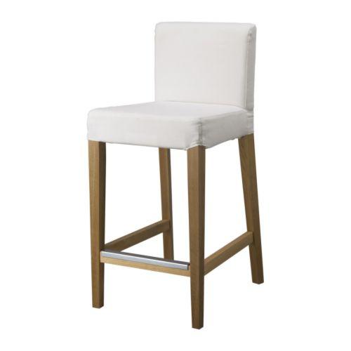 Henriksdal struttura per sgabello bar rovere 74 cm ikea for Ikea sedie bar