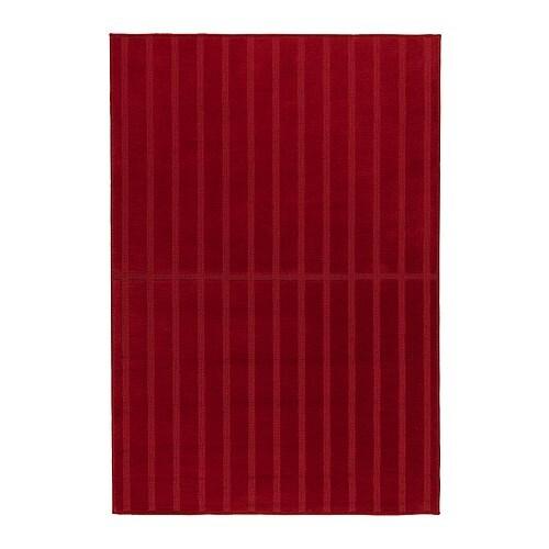 Herrup tappeto pelo corto 133x195 cm ikea - Tappeto rosso ikea ...