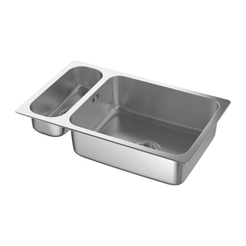 HILLESJÖN Lavello da incasso a 1 vasca 1/2 - IKEA