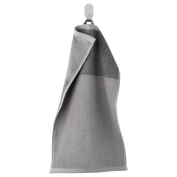 HIMLEÅN Asciugamano ospite, grigio scuro/melange, 30x50 cm