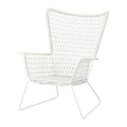 HÖGSTEN Poltrona da giardino, bianco- Sottocosto IKEA Torino
