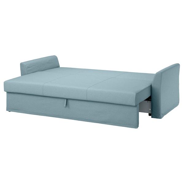 Ikea Catalogo Divani Letto.Holmsund Divano Letto A 3 Posti Orrsta Azzurro Ikea