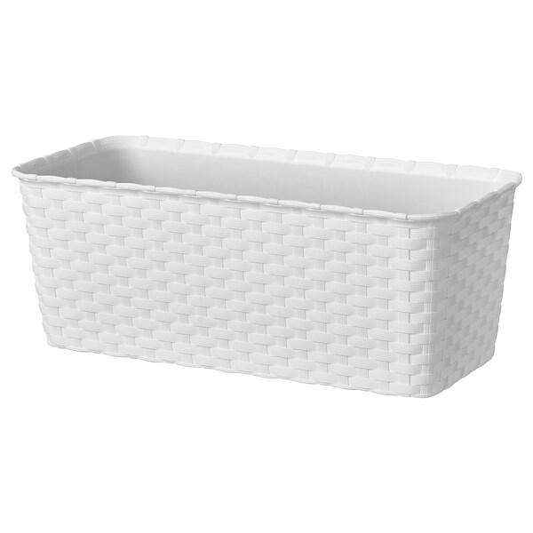 Honungsmelon Portavasi Bianco Da Esterno Ikea
