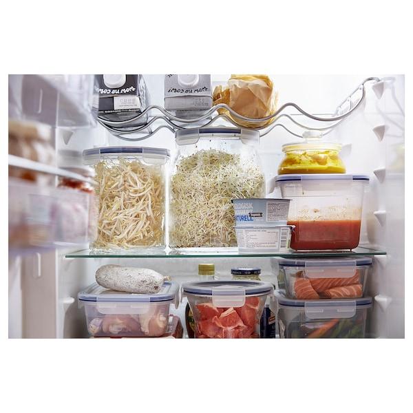 IKEA 365+ contenitore con coperchio vetro/plastica 17 cm 14 cm 1.7 l
