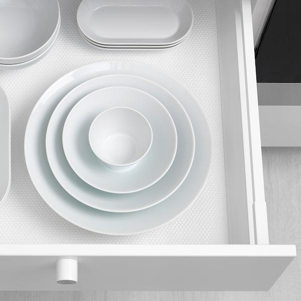 IKEA 365+ Piatto fondo/ciotola, bordi ad angolo bianco, 22 cm