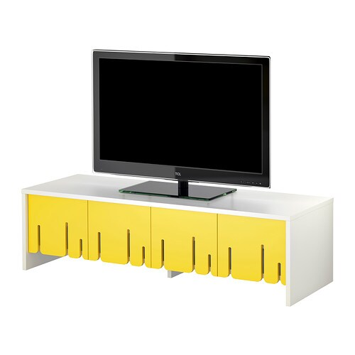 mobili e supporti tv schermo piatto piccole dimensioni ikea. Black Bedroom Furniture Sets. Home Design Ideas