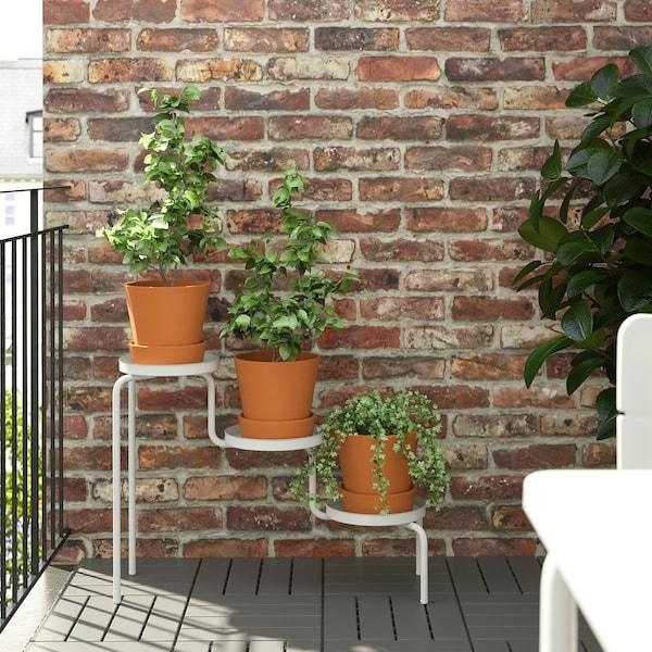IKEA PS 2014 Piedistallo per piante, da interno/esterno/bianco, 53 cm