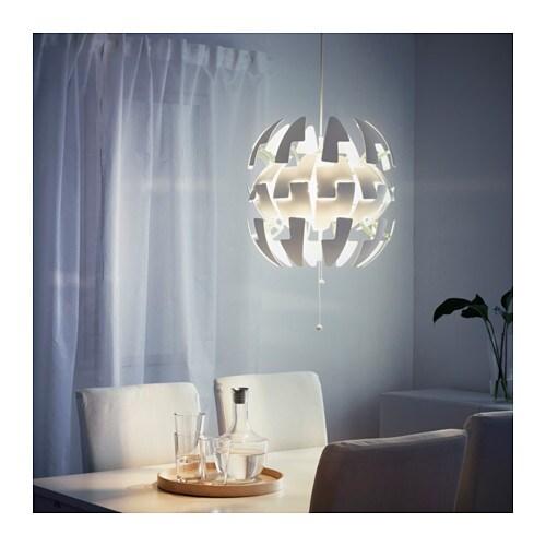 IKEA PS 2014 Lampada a sospensione - bianco/arancione - IKEA