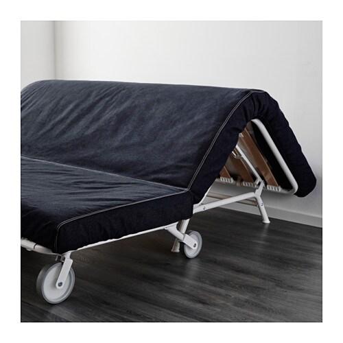 ikea ps lÖvÅs divano letto a 2 posti - vansta blu scuro, - ikea - 2 Posti Divano Letto Blu