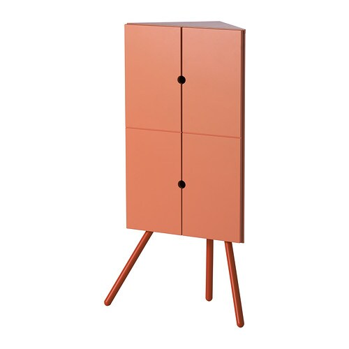 Ikea ps 2014 mobile angolare rosa 47x110 cm ikea for Mobile angolare