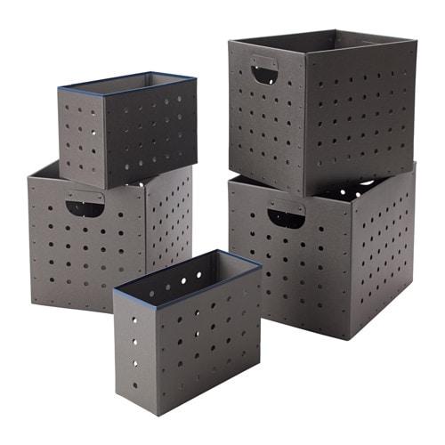 Ikea ps 2017 set di 5 scatole ikea - Scatole per armadi ikea ...