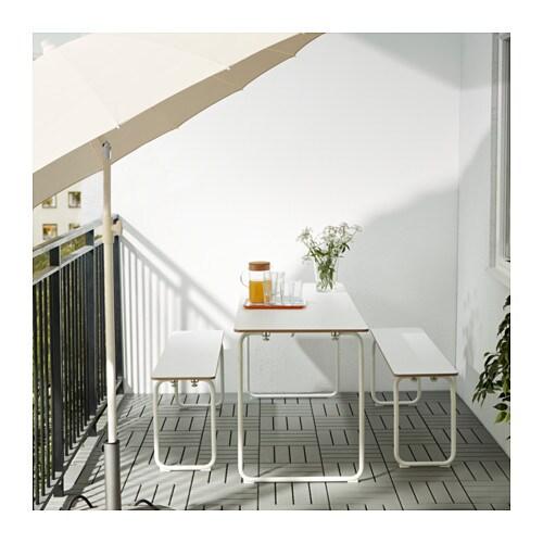 Ikea ps 2014 tavolo/2 panche, interno/esterno   ikea