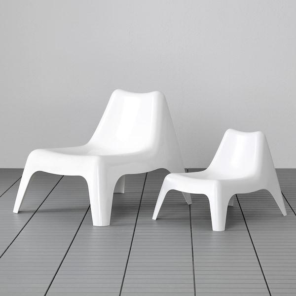 IKEA PS VÅGÖ Poltrona da giardino, bianco