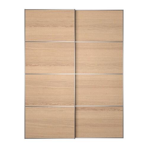 Ilseng coppia di ante scorrevoli 150x201 cm ikea for Ikea guardaroba ante scorrevoli